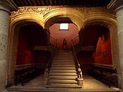 Antiguo Palacio de los Condes de Santiago de Calimaya, hoy Museo de la Ciudad de México.