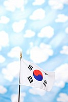 Wallpaper and Korean flag, Taegeukgi (thumbnail)
