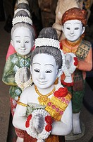 Tone Statues from Thai Dancers