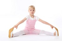 Kind macht Ballett