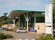 Garden centre at Trentham Gardens Estate, Stoke-on-Trent, North Staffs, Staffordshire