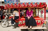 Public transport Xinjiang style.