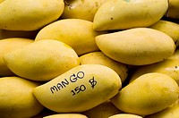 Mango sold in the market for 150 bhat a kg.