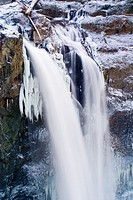 Snoqualmie Falls in Winter