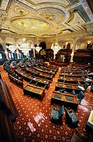 House of Representatives Chamber Springfield Illinois State Capitol Building