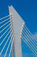 Bridge of the Technologic park of Santander, Cantabria, Spain
