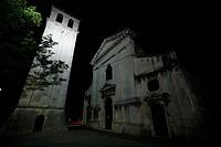 Dom Maria Himmelfahrt in Pula, Kirche in Pula Altstadt, Istrien, Kroatien