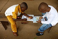 Sunday school, Lome, Togo, West Africa, Africa