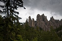 Needles Highway, Black Hills, South Dakota, United States of America, North America