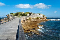 Old military fortress, Botany Bay National Park, La Perouse, Sydney, New South Wales, Australia, Pacific