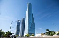 castellana street skyscrapers
