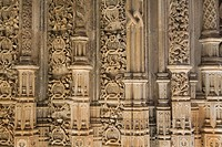Monastery of Santa Maria da Vitoria, also called Batalha Monastery, declared World Heritage by UNESCO in Batalha  Leiria district  Portugal