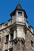 Town Hall, Katschhof, Aachen, North Rhine-Westphalia, Germany