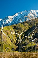 Wind generators in San Gorgonio pass, Near Palm Springs California
