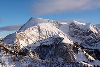 Bergspitzen in den Alpen