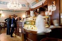 Cafe, Parma, Emilia Romagna, Italy