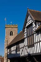 UK, England, Shropshire, Much Wenlock, The Guildhall