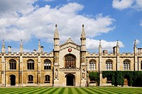 Corpus Christi College, Cambridge, England, UK