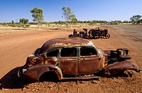 Northern territory _ Red centre _ Wauchope _ Wreck