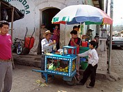 seller, fruit, drink, guatemala, person, people