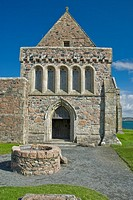 Iona Abbey Isle of Iona Argyll & Bute Scotland