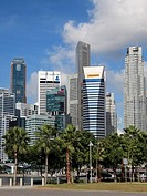 Singapore, Central Business District skyline