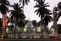 Malaysia, Kuala Lumpur, Masjid Jamek Mosque,
