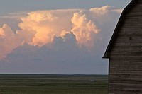 saskatchewan, clouds, southern, scenic, forming, storm