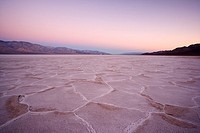 Sunrise over Badwater, Death Valley national park