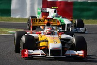 Race, Fernando Alonso, Renault F1 Team, R29, Grand Prix, 04/10/2009, Suzaka, Japan