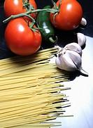 onion, spaghetti, nutritious, pasta, food, dry
