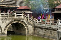 yuantong, people, bridge, china, person, love