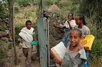gudo, person, tullo, ethiopia, children, people