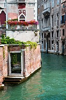 Small canal's view, San Polo district, Venice, Italy