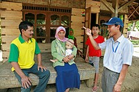 family people person indonesia cikado village se