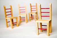 background people art closeup wooden chairs