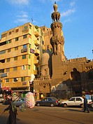 Mameluke Mosque at Islamic quarter, Cairo, Egypt