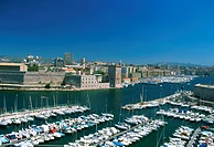 France, Provence, Marseille, Vieux Port, old harbour