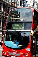 Double Decker Bus, London, England