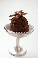 Small tartufo cake