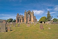 Melrose Abbey Melrose Scottish Borders Scotland