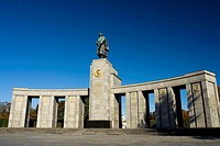 This war memorial was built to honour the Soviet soldiers that fell in the battles against the German army in the Second World War  It was located at ...