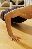 Man doing Press_Ups _ Sportiness _ Gymnastics