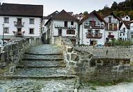 Ochagavia  Salazar Valley, Roncal-Salazar County, Pyrenees, Navarre, Spain, Europe
