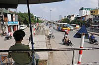 Tran Nhat Duat ring road, Hanoi, Northern Vietnam, southeast asia