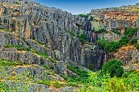 Chorreras de Despeñalagua. Sierra de Ayllon. Valverde de los Arroyos. Guadalajara province. Castilla-La Mancha. Spain.