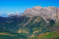Western Massif. Valdeon Valley. Picos de Europa National Park. Leon province. Castilla y Leon. Spain