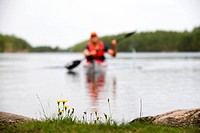 A paddler, Sweden.