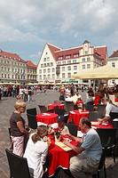 Estonia, Tallinn, Town Hall Square, Raekoja Plats,
