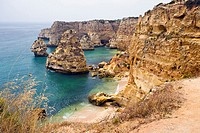 Praia da Marinha in Lagos, The Algarve, Portugal